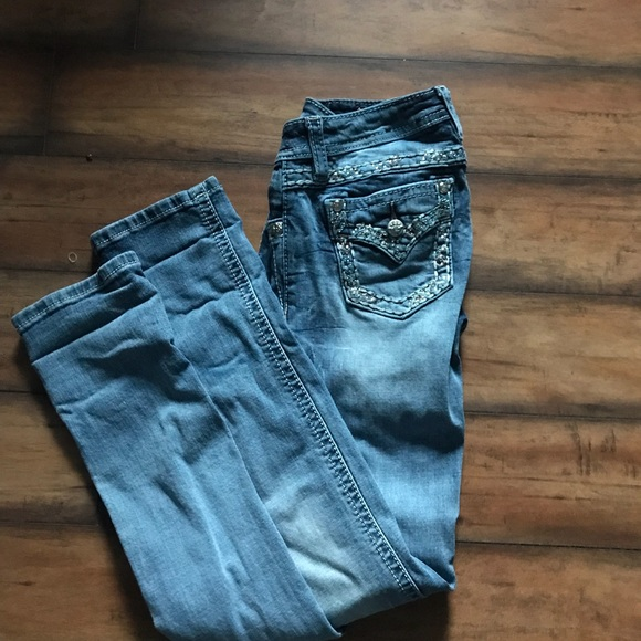 Miss Me Other - size 14 hardly worn miss me jeans